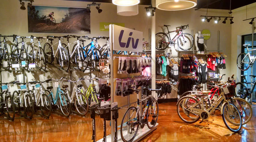 Outspokin Bicycles Has the Largest Ladies Section of Bikes and Clothing