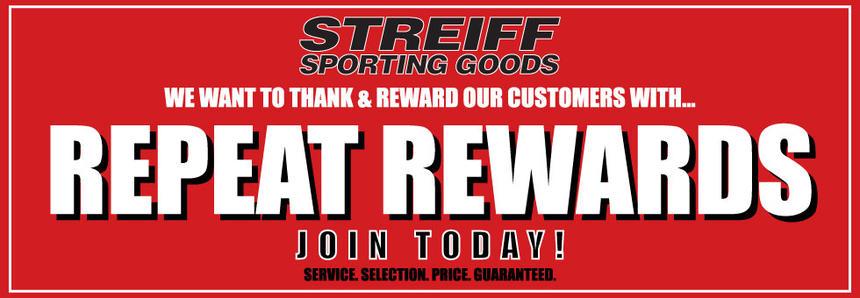 Streiff Sporting Goods Customer Rewards