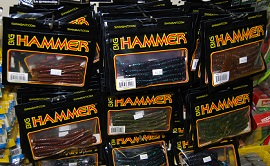Big Hammer Plastic worms