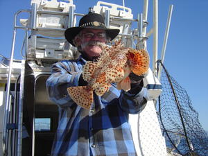 Sculpin have toxins on their spines that may cause swelling and nausea