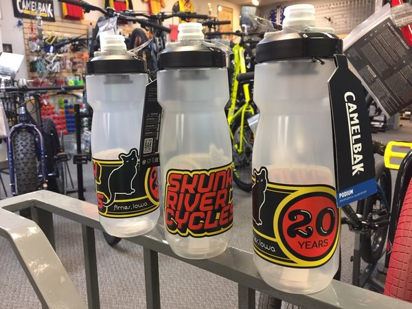Skunk River Cycles SRC 20 Years Podium 24oz