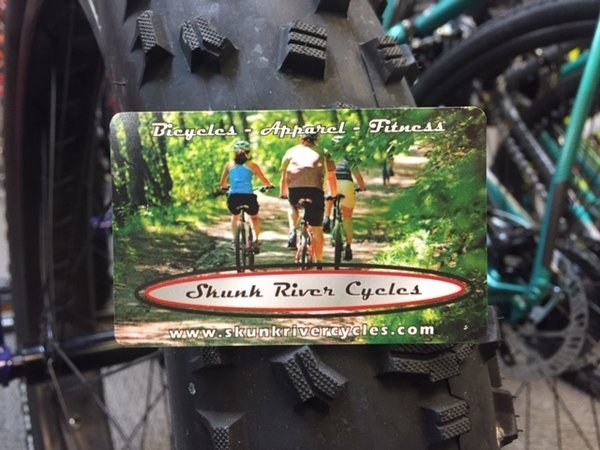 Skunk River Cycles Gift Card