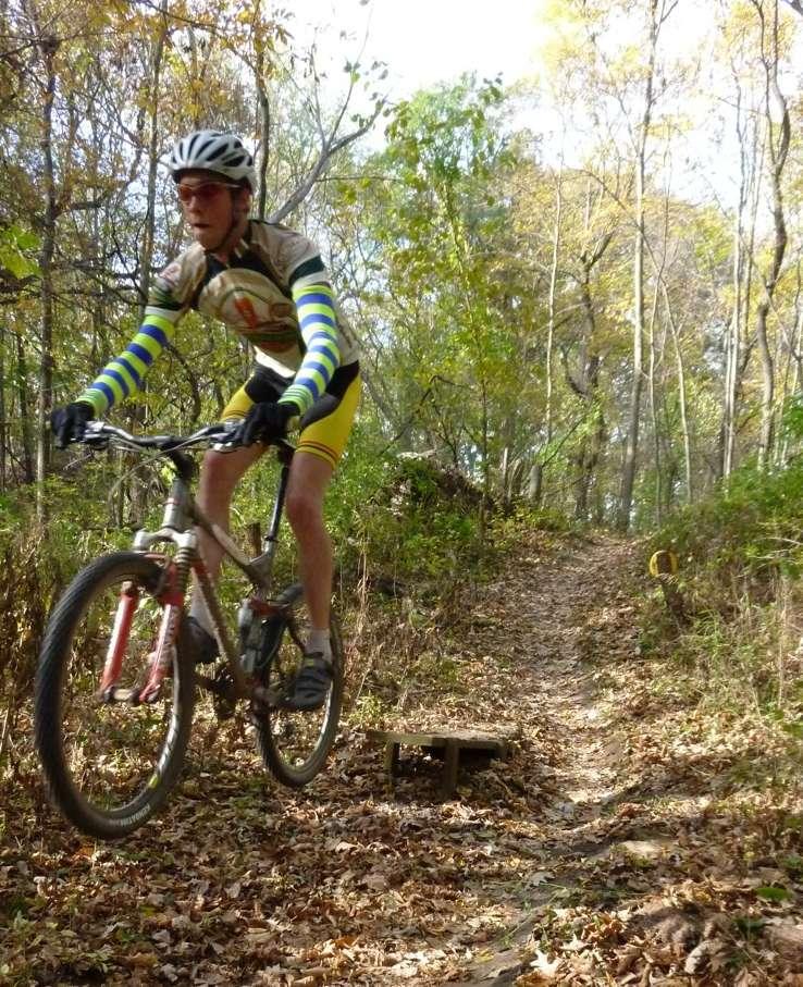 mountain biking singletrack