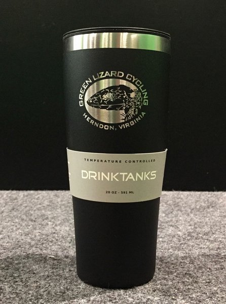Drink Tanks Custom 20oz Vacuum Insulated Cup w/ Lid Obsidian