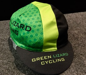 Pearl Izumi Green Lizard Custom Cycling Cap Green