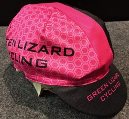 Pearl Izumi Green Lizard Custom Cycling Cap Pink