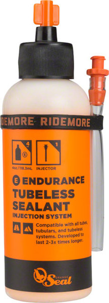 Orange Seal Orange Seal Endurance Tubeless Sealant, 4oz with Twist Lock Applicator