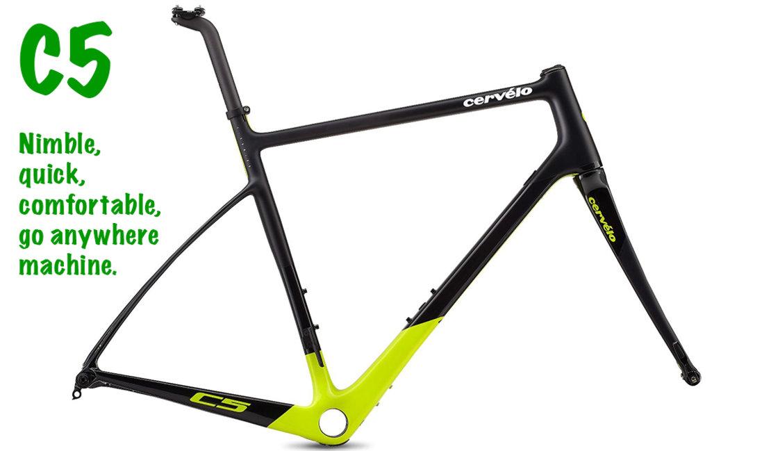 c5 cervelo endurance bicycle