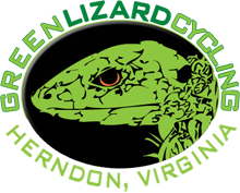 Green Lizard Cycling 703 707 2453 Logo