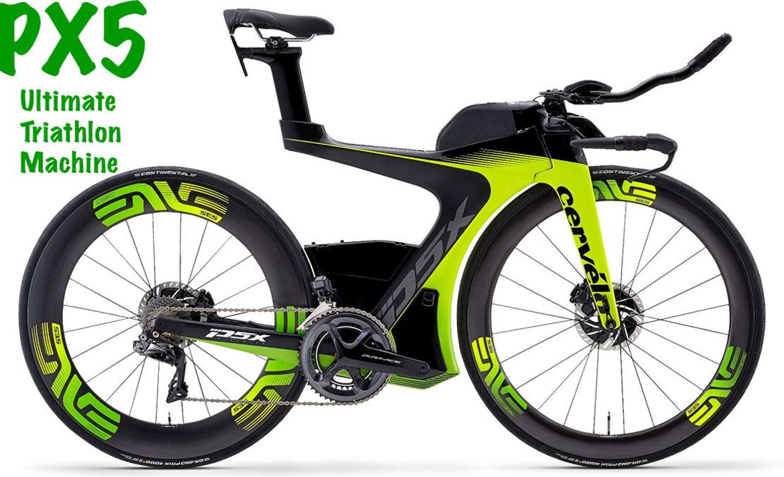 cervelo px5 triathlon bicycle