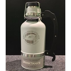 Drink Tanks Custom Growler 64oz Glacier