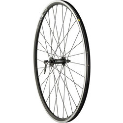 Quality Wheels Quality Wheels Road Front Wheel Rim Brake 700c 32h 100mm QR Shimano 105 5800 / DT R460 / DT Stainless Steel All Black