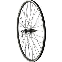 Quality Wheels Quality Wheels Road Rear Wheel Rim Brake 700c 32h Shimano 105 5800 11s / DT R460 / DT Stainless Steel All Black