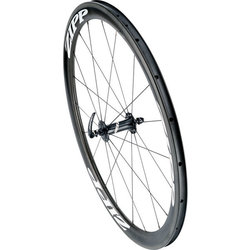 Zipp Zipp 302 Carbon Clincher Front Wheel, 700c, 24 Spokes, 77, V1, White Decal