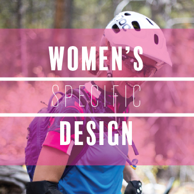 Women's Specific Design - bikes and cycling gear