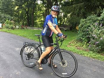 Jeff riding