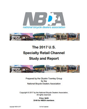 NBDA 2017 Specialty Bicycle Retail Study (PDF)