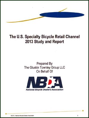 NBDA 2013 NBDA Specialty Bicycle Retail Study