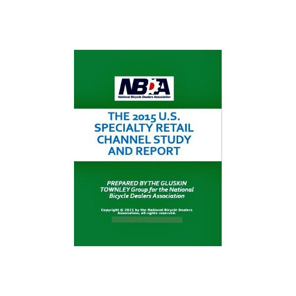 NBDA 2015 Specialty Bicycle Retail Study (PDF)