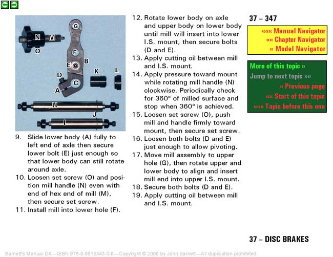 Barnetts Manual DX