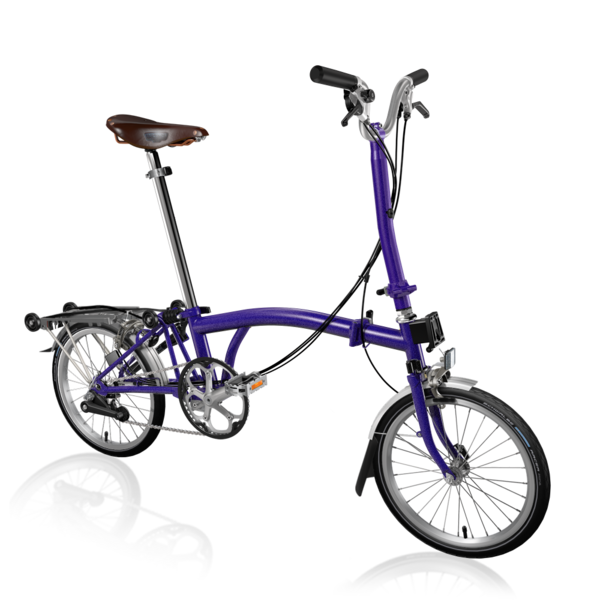 Brompton H6RA Purple Metallic
