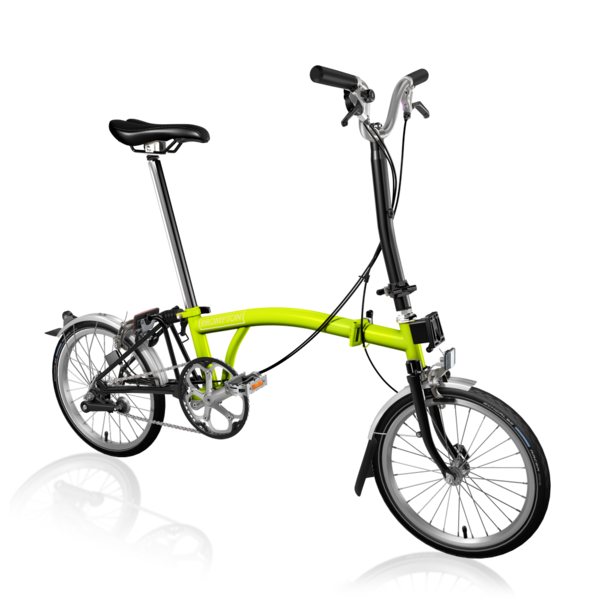 Brompton H3LA Lime Green/Black