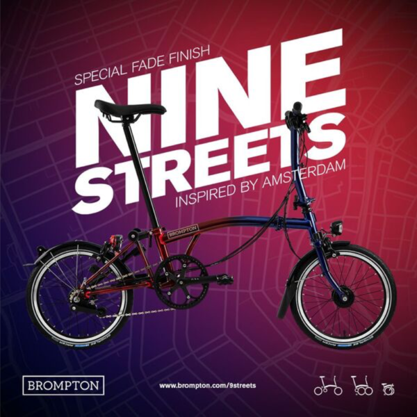 Brompton Nine Streets Special Edition -S/M/H Type