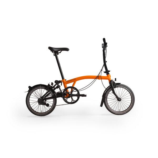 Brompton Black Edition M6LA Orange/Black