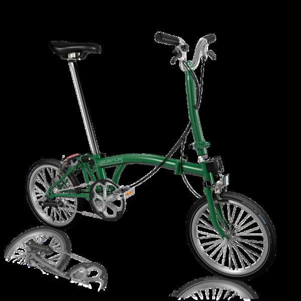 Brompton H3EA Racing Green/Racing Green