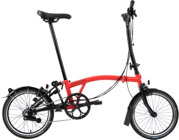Brompton Black Edition H6L Rocket Red/Black