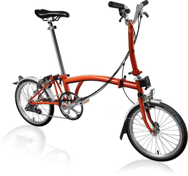 Brompton M6L Flame Lacquer/Flame Lacquer