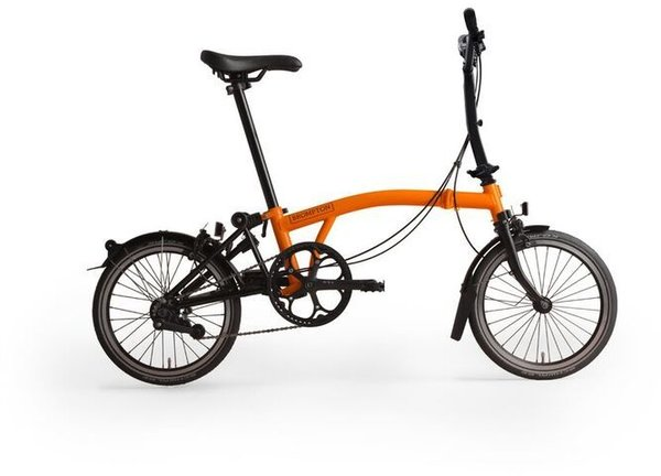 Brompton M6L Black Edition Orange/Black