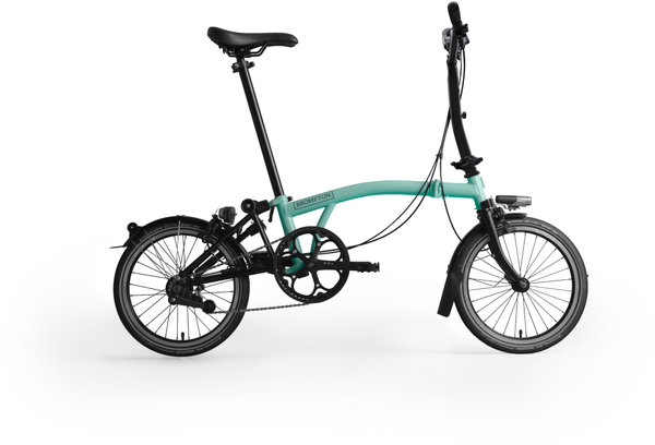 Brompton M6L Black Edition Turkish Green/Black
