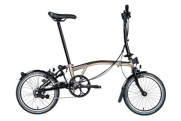 brompton nickel edition mra wbrooks hollandsbicyclescom