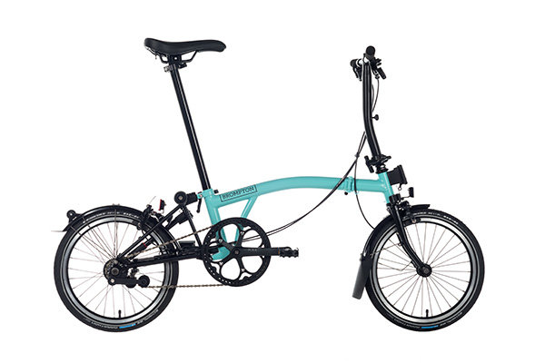Brompton Black Edition S2LA Turkish Green/Black Titanium