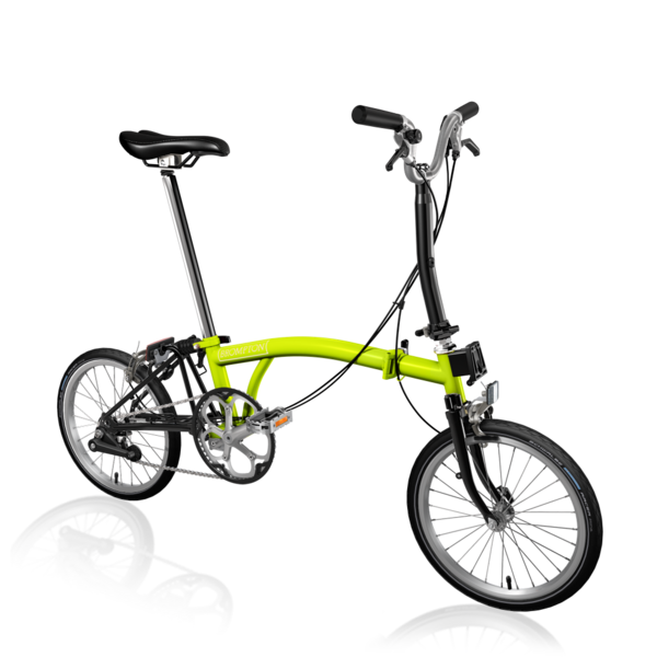 Brompton M2EA Lime Green/Black