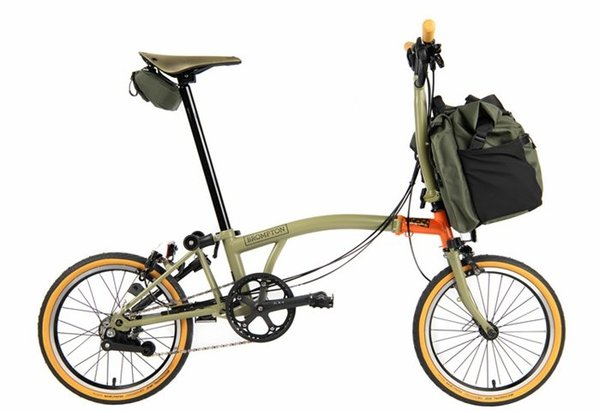 Brompton M6L Explore w/Special Edition Bag & Accessories