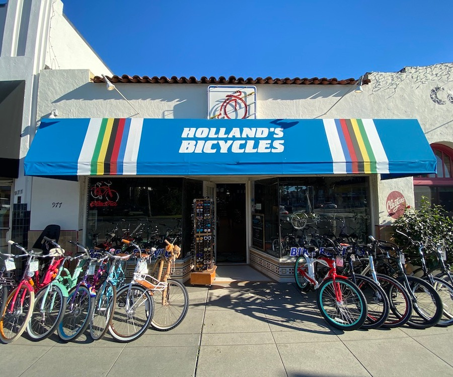 Holland's Bicycles is the best shop in town