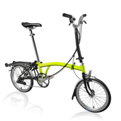 Brompton H6RA Lime Green/Black