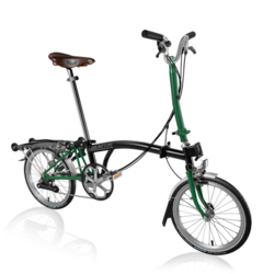 Brompton H6RA Black/Racing Green