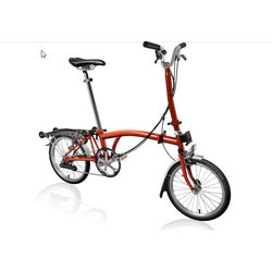 Brompton H6R Flame Lacquer/Flame Lacquer