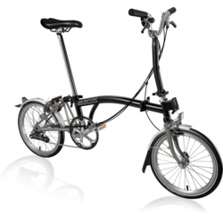 Brompton M6LA Black Titanium Superlight