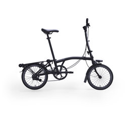 Brompton H6R Black Edition Black Gloss/Black Gloss