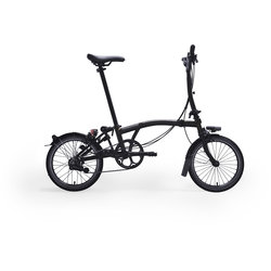 Brompton M6L Black Edition Gloss Black/Gloss Black