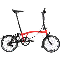 Brompton Black Edition M6L Rocket Red/Black