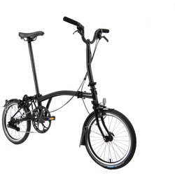 Brompton Black Edition M6L Black Titanium (Superlight)