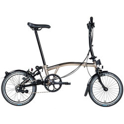 Brompton Nickel Edition M6RA