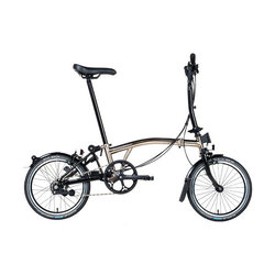 Brompton Nickel Edition M6RA w/Brooks