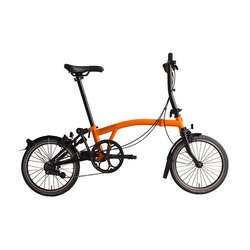 Brompton BLACK EDITION S2LA ORANGE/BLACK