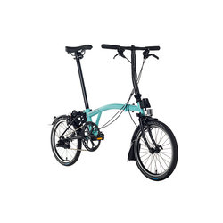Brompton Black Edition H6LA Turkish Green/Black